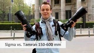 Sigma 150-600 vs Tamron 150-600 mm - Duell der Super-Telezoom-Objektive [Deutsch]