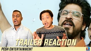 Raees Official Trailer Reaction & Review | Shah Rukh Khan, Nawazuddin Siddiqui | PESH Entertainment