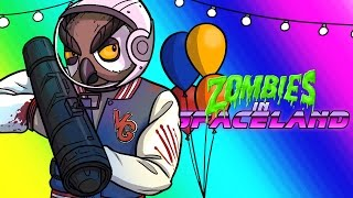 Infinite Warfare Zombies  Spaceland 1st Attempts Funny Moments  Fails