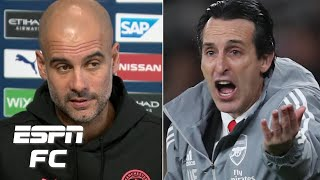Pep Guardiola 'so sorry' to see Unai Emery sacked by Arsenal | Premier League