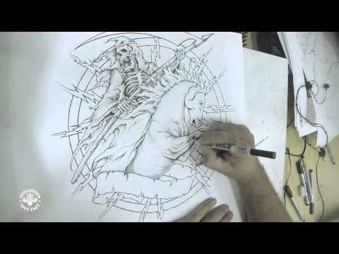 Affliction  Artist Den  The Reaper