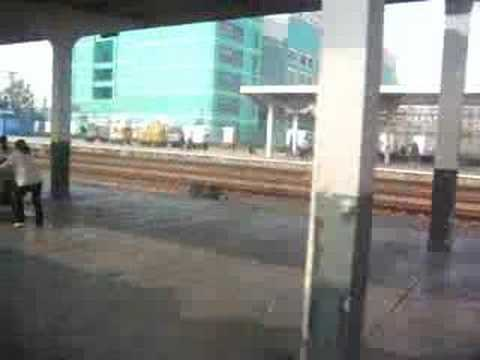China Train video 6 Train Station