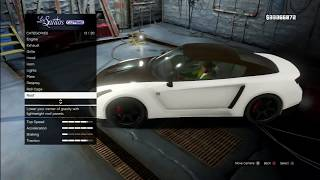 "GTA V - Pimp My Ride | Annis Elegy RH8 ""Nissan GT-R"" Car Tuning Customization (GTA V)"