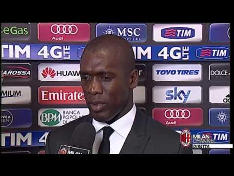 AC Milan | Seedorf: 'Orgoglioso di questi ragazzi' (with subtitles)