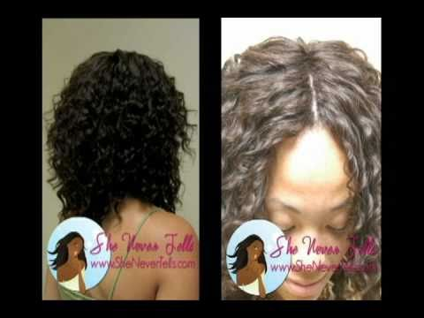 Invisible Part Full Sew In Weave Tutorial (No Glue)