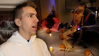 MY BOYFRIEND WENT AWAY AND I DID THIS TO HIS ROOM.... (Prank)