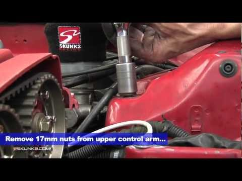 Skunk2 How-To: Pro Series Front Camber Kit Installation