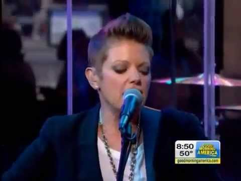 Natalie Maines w/ Ben Harper - Without You (Eddie Vedder Cover)  Good Morning America