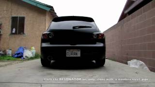 2006 Mazda 3s 2.3l Magnaflow Exhaust System