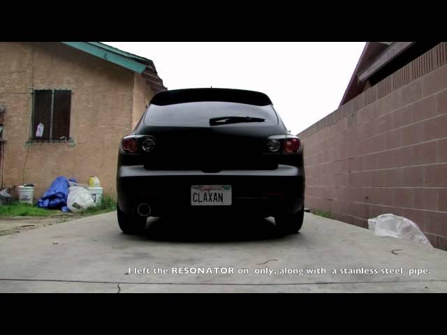 2006 Mazda 3s 2.3l Magnaflow Exhaust System