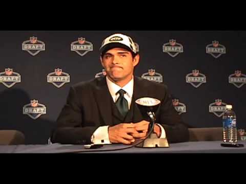 NFL Draft: Mark Sanchez Interview, New York Jets Video