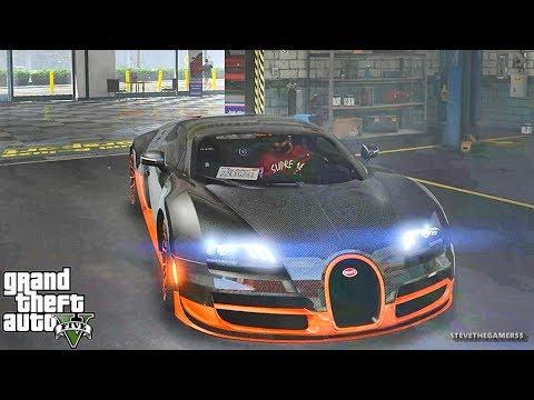 GTA 5 REAL LIFE MOD #333 FRIDAY!!! (GTA 5 REAL LIFE MODS) BUGATTI
