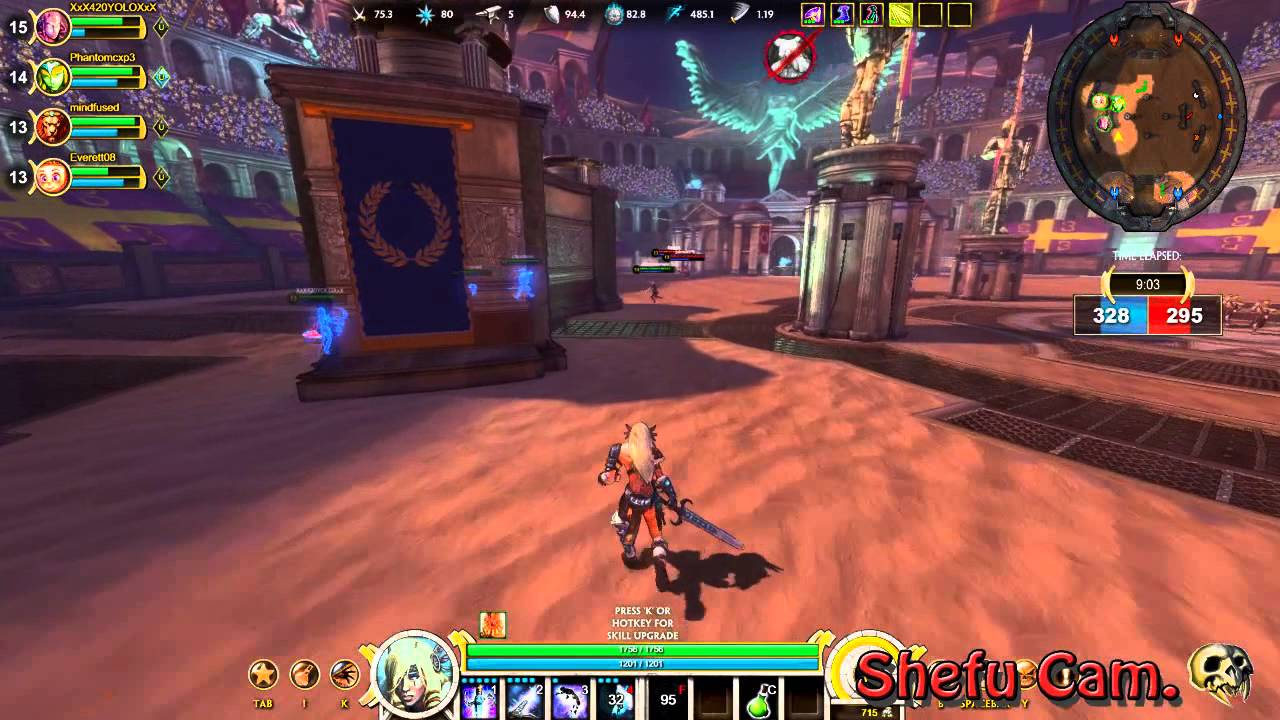 Lets Play Smite A Third Person MOBA First Look YouTube