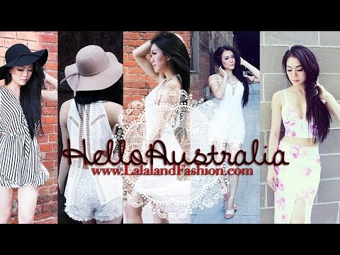 Hello Australia Lookbook