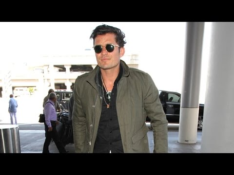 Orlando Bloom Leaves L.A. Sans Katy Perry