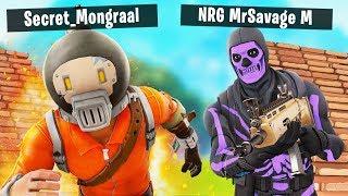 MrSavage and BenjyFishy vs Mongraal and Mitr0