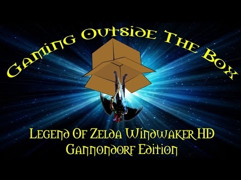 "Gaming Outside The Box - ""The Legend Of Zelda Windwaker HD Limited Gannondorf Edition"""