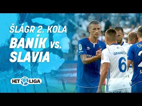 Slowmotion sestřih: Baník – Slavia