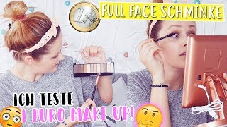 Ich TESTE 1€ MAKE UP BEAUTY PRODUKTE🤔😱 (1€ Shop Schminke) | Mone