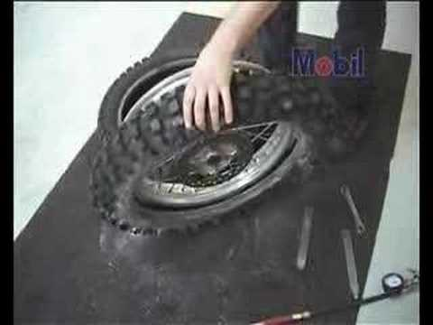 Easy Dirtbike Tire Changes