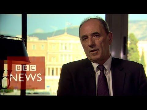 Greece debt crisis: 'Deadlock broken' says Giorgos Stathakis - BBC News