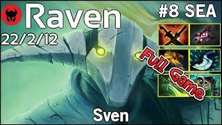 Raven [LOTAC] plays Sven!!! Dota 2 Full Game 7.21