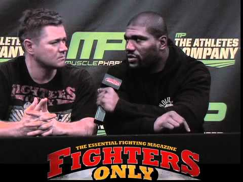 Rampage Jackson interviewed at UFC 135 training camp Image 1