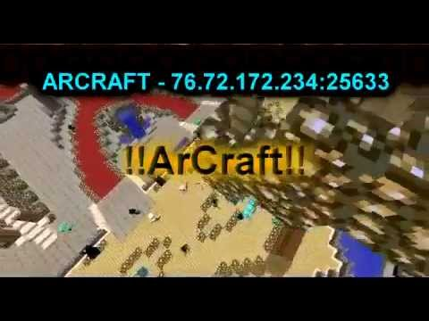 ArCraft Srv 1.5.2 - FACTIONS | FULL PVP | BOSSES | NO PARCELAS Trailer