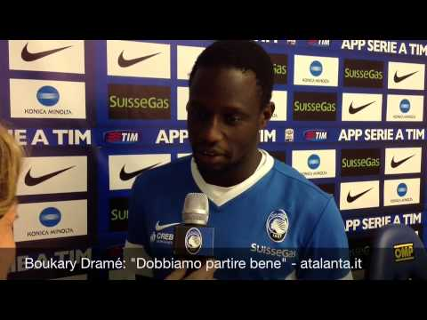 La presentazione ufficiale di Boukary Dramé