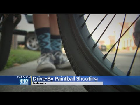 Children Hurt In Drive-By Paintballing Attack