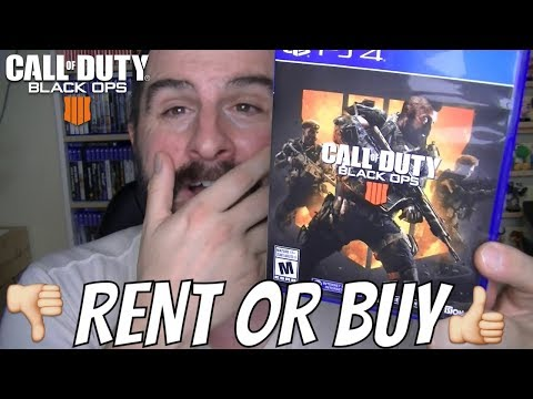 CALL OF DUTY BLACK OPS 4 RENT OR BUY GAME REVIEW
