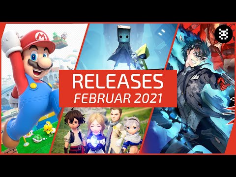 🆕 Neue SPIELE im FEBRUAR 2021 für PS4, PS5, Xbox One, Nintendo Switch & PC