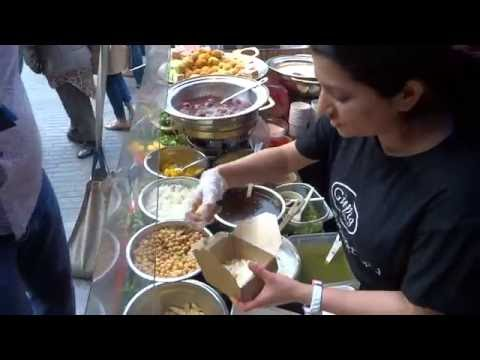 Bombay Street Food: Aloo Papri Chaat, Gol Guppa, Tawa Paneer Wraps + more at Alchemy Indian Festival
