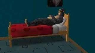 Code Monkey con video de Sims 2