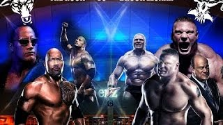 The Rock vs Brock Lesnar WRESTLEMANIA 34 NEW PROMO