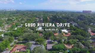 Coral Gables Real Estate - 5850  Riviera Drive - Miami Waterfront Real Estate