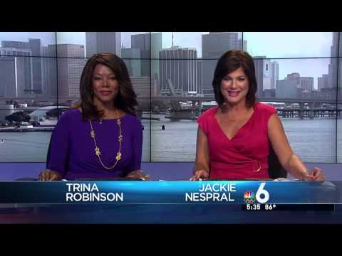 WTVJ NBC 6 South Florida News at 5&6 - New Set/GFX Montage - 7/18/12