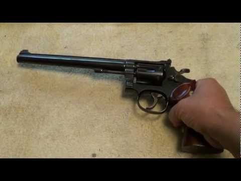 Smith & Wesson model 17-4 Target Masterpiece