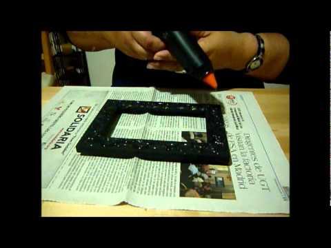 Como decorar un marco youtube for Marcos para decorar