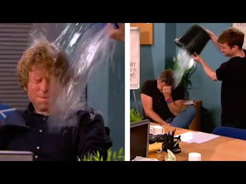 ALS Ice Bucket Challenge With Daniel Radcliffe! - The Last Leg