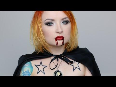 WAMPIRZYCA - tutorial na Halloween ★ Red Lipstick Monster ★