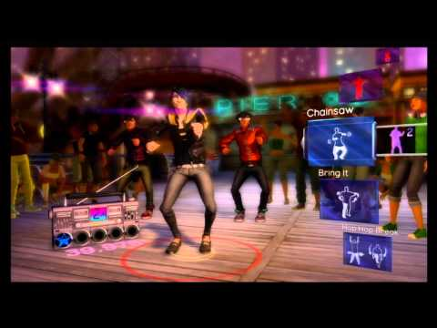 Dance Central Xbox 360 Kinect Gameplay Video
