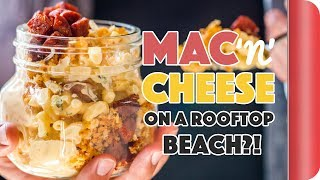 Mac & Cheese On A Rooftop Beach In Central London