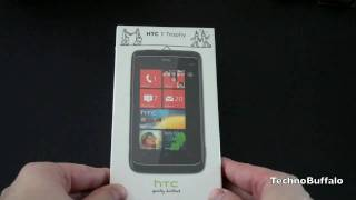 HTC Trophy Unboxing