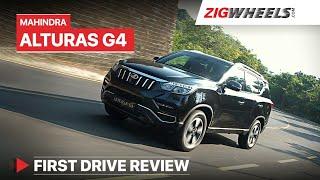 Mahindra Alturas G4 Review | Take a bow, Mahindra! 👏 | ZigWheels.com