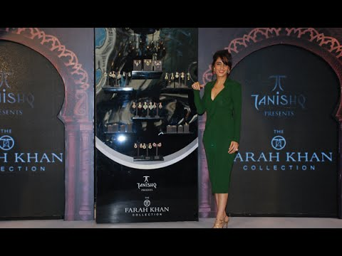 Tanishq Collaborates With Jewellery Designer Farah Khan Ali
