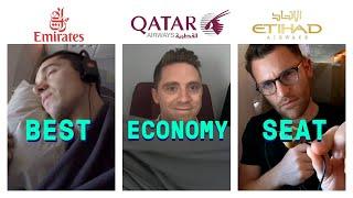 Flight Review: Emirates vs Etihad vs Qatar | Which Has The Best Economy Class?
