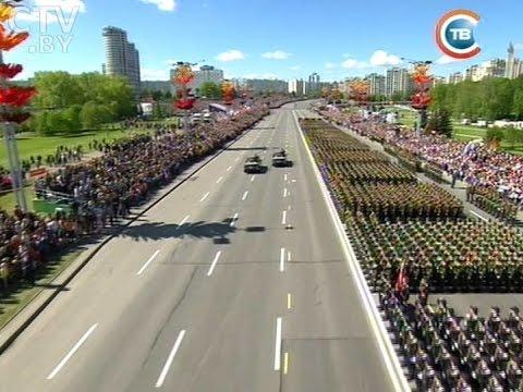 Парад в Минске 9 Мая 2015 -  самая полная версия