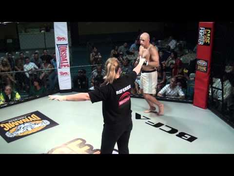 Crazy Ground & Pound Knock Out - Henrique Santana Vs Alexei Roberts - MMA - BCFA Image 1