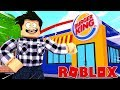 J'OUVRE UN BURGER KING ! | Roblox Fast Food Tycoon 🍟